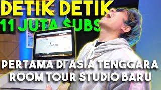 Video Detik Detik 11 JUTA Subs Pertama Di Asia Tenggara + Room Tour Studio Baru... MP3, 3GP, MP4, WEBM, AVI, FLV Februari 2019