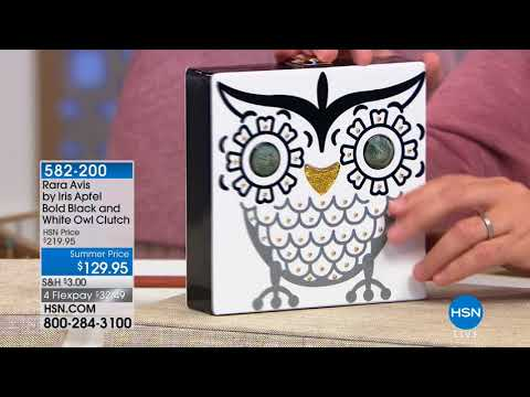 HSN | Rara Avis by Iris Apfel Jewelry 05.16.2018 - 02 AM (видео)