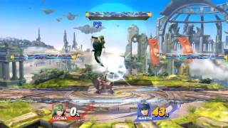 Lucina has Battlefield Combos too!