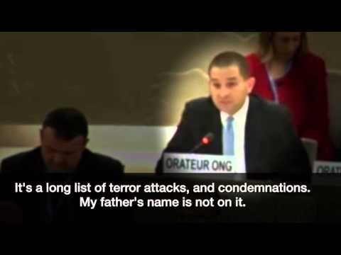 A Challenge to UN Secretary-General from the Son of Richard Lakin, March 21, 2016, UNHRC, Geneva