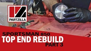 5. Polaris Top End Rebuild Part 3: Replace Piston and Rings| Partzilla.com