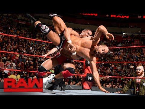 Jason Jordan vs. Cesaro: Raw, Jan. 1, 2018