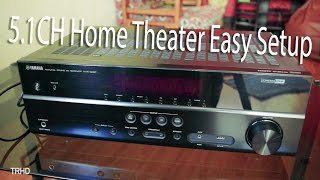 2. How to Setup Home Theater to TV - Very Easy!