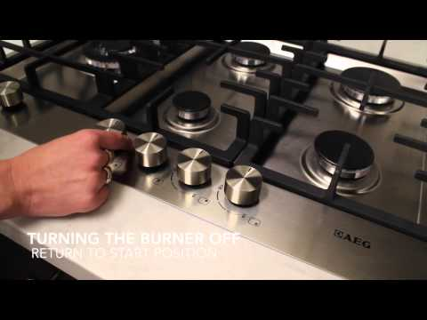 AEG Gas Cooktop (6524GM-M-F or 75040GM-M-F)