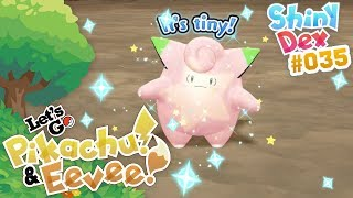 EPIC SHINY CLEFAIRY in POKEMON LET'S GO PIKACHU and EEVEE! by aDrive