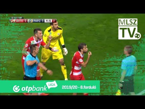 8. forduló: DVTK - PAFC 1-1 (0-0)