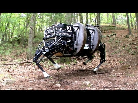 Boston Dynamics LS3 - Legged Squad Support System