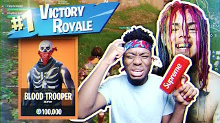 Playing Fortnite WITH A Blood Member... WEIRDEST DUOS TEAM ON EARTH!