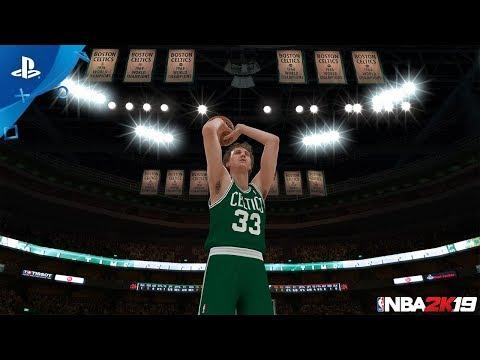 NBA 2K19 MyTEAM: Larry Bird 20th Anniversary Packs | PS4 - Thời lượng: 21 giây.