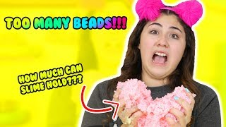 Video HOW MUCH CAN SLIME HOLD PART 6 | pallet beads, shower gel, hand soap | Slimeatory #198 MP3, 3GP, MP4, WEBM, AVI, FLV Januari 2018