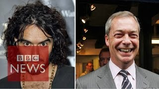 Russell Brand and Nigel Farage Debate Immigration