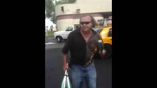 Taxi Driver Daniel Mann Teddy Afro, Pit Vegas Port.