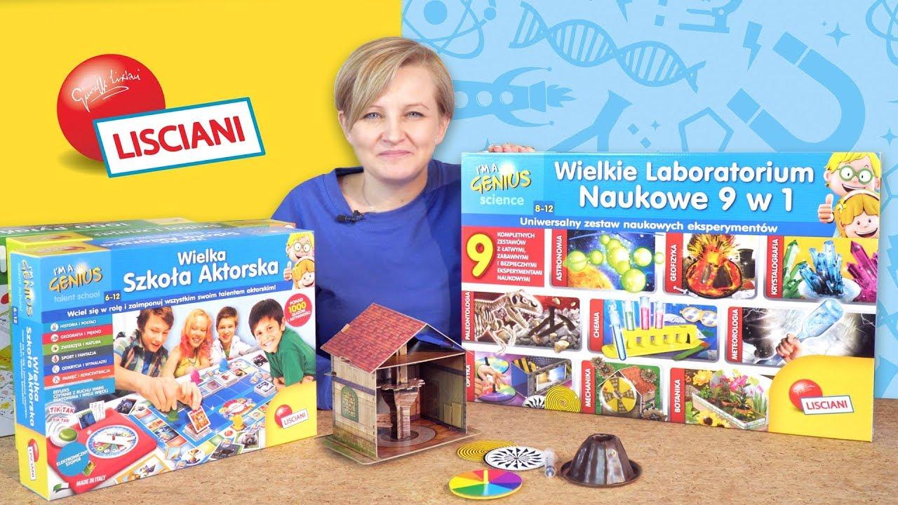 Gry i zabawki Lisciani
