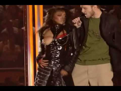 Janet Jackson Titty Slip at the Super Bowl
