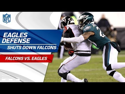 Video: Philadelphia Defense Holds Atlanta to 10 Points! | Falcons vs. Eagles | Divisional Round Player HLs