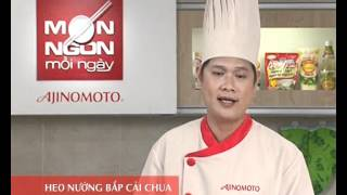 Món Ngon Mỗi Ngày - Heo nướng bắp cải chua