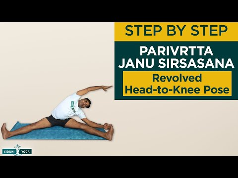 Parivrtta Janu Sirsasana (Revolved Head-to-Knee Pose)