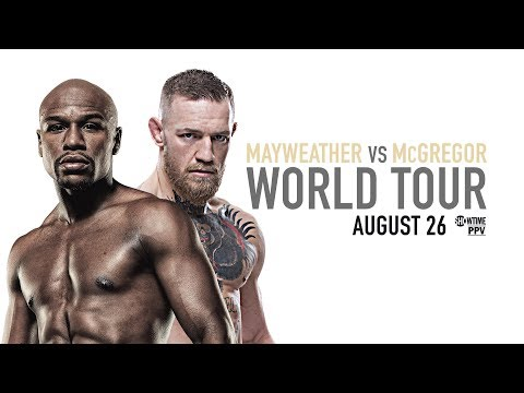 Mayweather v McGregor: London press conference