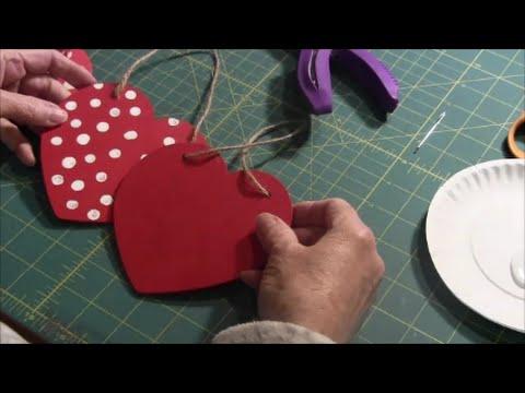 Wooden/Foam Heart Craft