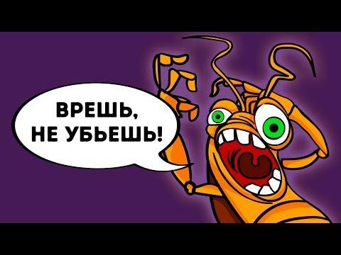 Почему Тараканов Так Сложно Убить - DomaVideo.Ru
