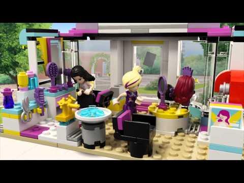 LEGO Friends - Heartlake hajvágó szalon