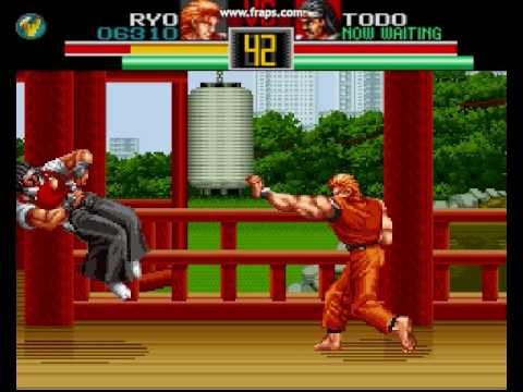 art of fighting megadrive cheats