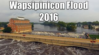 Independence (IA) United States  city pictures gallery : Wapsipinicon Flood Independence Iowa 2016