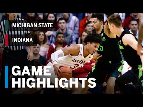 Highlights: Justin Smith Drops 24 Points in a Win | Michigan State vs. Indiana | March 2, 2019