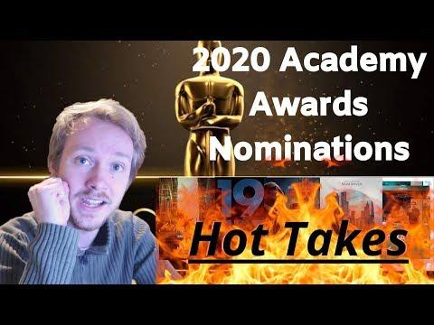 My Reaction to the 2020 Oscar Nominations - lukemick