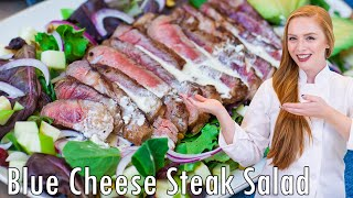 Blue Cheese Steak Salad by Tatyana's Everyday Food