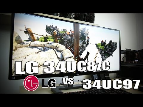 Review - LG 34UC87C Curved Ultrawide IPS Display