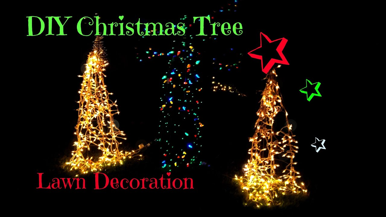 Diy outdoor christmas decorations christmas decorations lights solutioingenieria Images