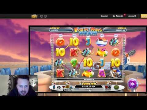 Foxin' wins - mega win in the bonus game