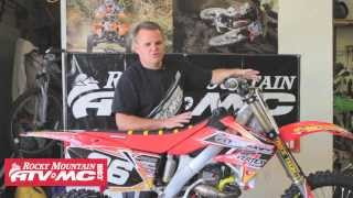 5. Racer X Tested 2006 Honda CRF 250R Project Rebuild Race Bike
