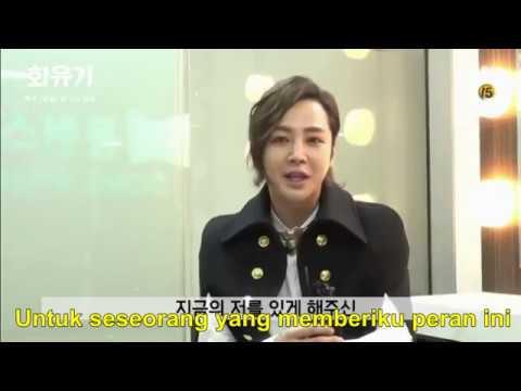 Indo Sub] Di Balik Layar Cameo Jang Keun Suk di Drama Hwayugi Ep  03
