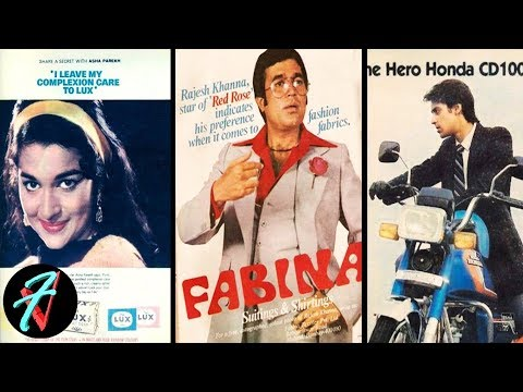 Video 25 Old Ads Featuring Bollywood Celebrities(1960 - 1990)   Bollywood Celebrities Vintage Ads download in MP3, 3GP, MP4, WEBM, AVI, FLV January 2017