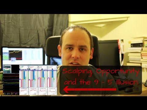 Opportunity, the 9-5 Illusion & Scalping Betting Exchanges