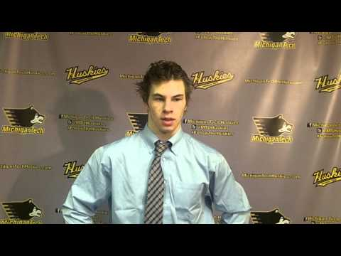 Blake Pietila Postgame Interview vs. UAH, 2-8-14