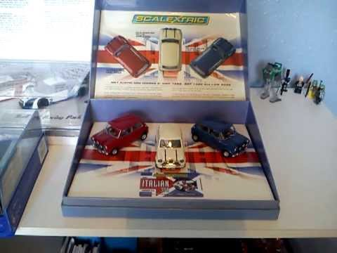 Scalextric Review: Morris Mini Italian Job Limited edition set