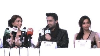 Press Conference, Bollywood ShowStoppers, Atif Aslam, Bipasha Basu, Malaika Arora Khan&Shaan