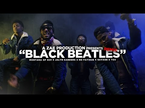 Black Beatles Remix [Feat. Jalyn Sanders, No Fatigue, $avage & TO3]