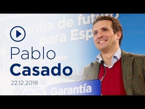 """Casado: """"El PP quiere llegar al Gobierno para rescatar al Estado"""""""