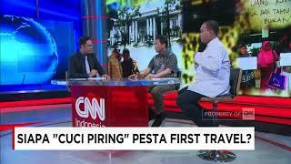 Kasus Kegagalan Puluhan Ribu Anggota Jemaah Umrah First Travel untuk Berangkat ke Tanah Suci, Seharusnya Menjadi Pembelajaran Bagi Jemaah Lain Agar Cerdas dan Teliti Memilih Biro Perjalanan Umrah dan Haji. Penipuan Biro Umrah & Haji Memang Rawan Terjadi. Jika Sudah Kejadian, Siapa Nantinya yang Akan Mengganti Kerugian Korban Travel Lancung Tersebut? Untuk Membahasnya CNN Indonesia Prime News Menghadirkan Achmad Mustaqim (Anggota Komisi VIII DPR RI), Riesqi Rahmadiansyah (Kuasa Hukum Korban First Travel), Mastuki (Kabiro Humas Kementerian Agama RI).Ikuti berita terbaru di tahun 2017 dengan kemasan internasional berbahasa Indonesia, dan jangan ketinggalan breaking news 2017 dengan berita terakhir dan live report CNN Indonesia di https://www.cnnindonesia.com dan channel CNN Indonesia di Transvision. Follow & Mention Twitter kami :@myTranstweet@cnniddaily@cnnidconnected @cnnidinsight @cnnindonesia Like & Follow Facebook:CNN IndonesiaFollow IG: cnnindonesia