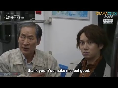 [ENG SUB] Kim Hee Chul- Drama Cut Getting Hit Funny ;-)
