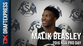 Malik Beasley Interview from ASM Sports Pro Day