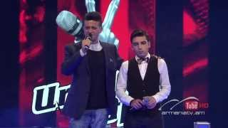 Vardan Galstyan vs. Lilit Avanesyan,Piu Che Puoi - The Voice of Armenia-The Battles Season 3