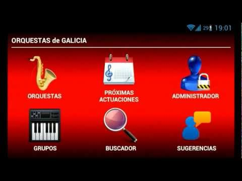 Video of Galicia's Orchestras