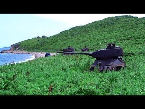 Брошенные танки 1 часть tank wrecks