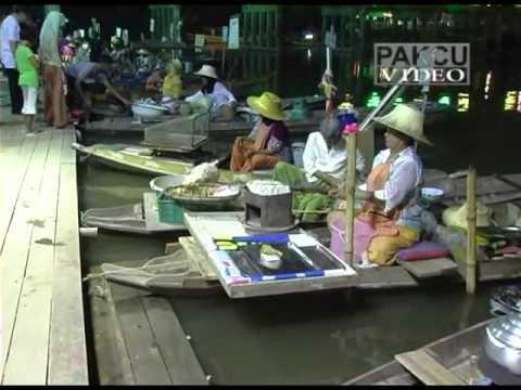 Klonghae Floating Market, Hat Yai, Thailand