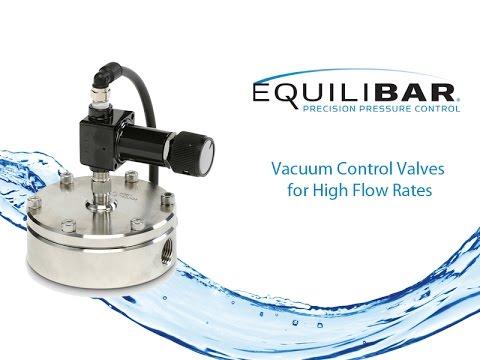 Vacuum Control Valves for High Flow Rates